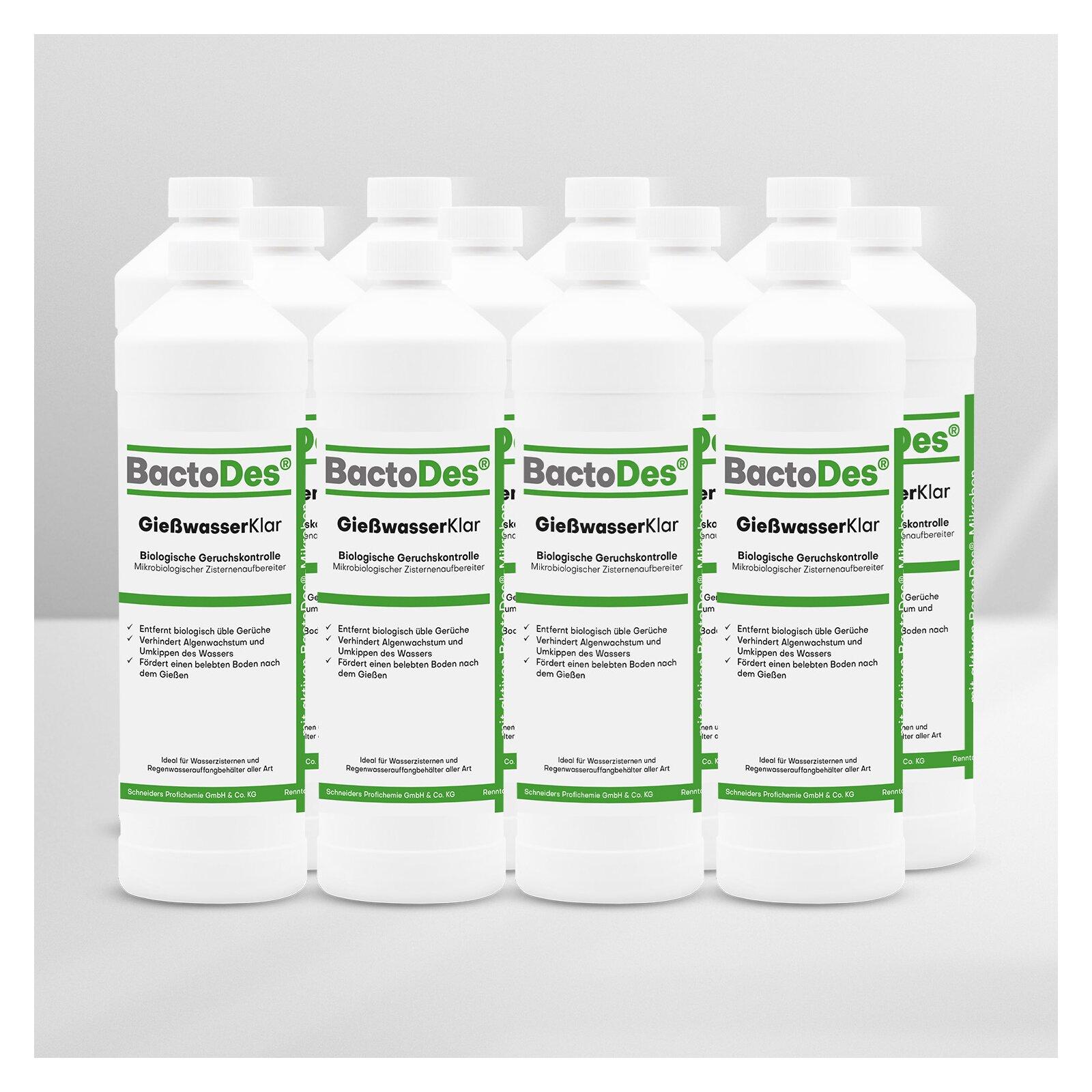 BactoDes(R) GießwasserKlar 12 x 1 Liter