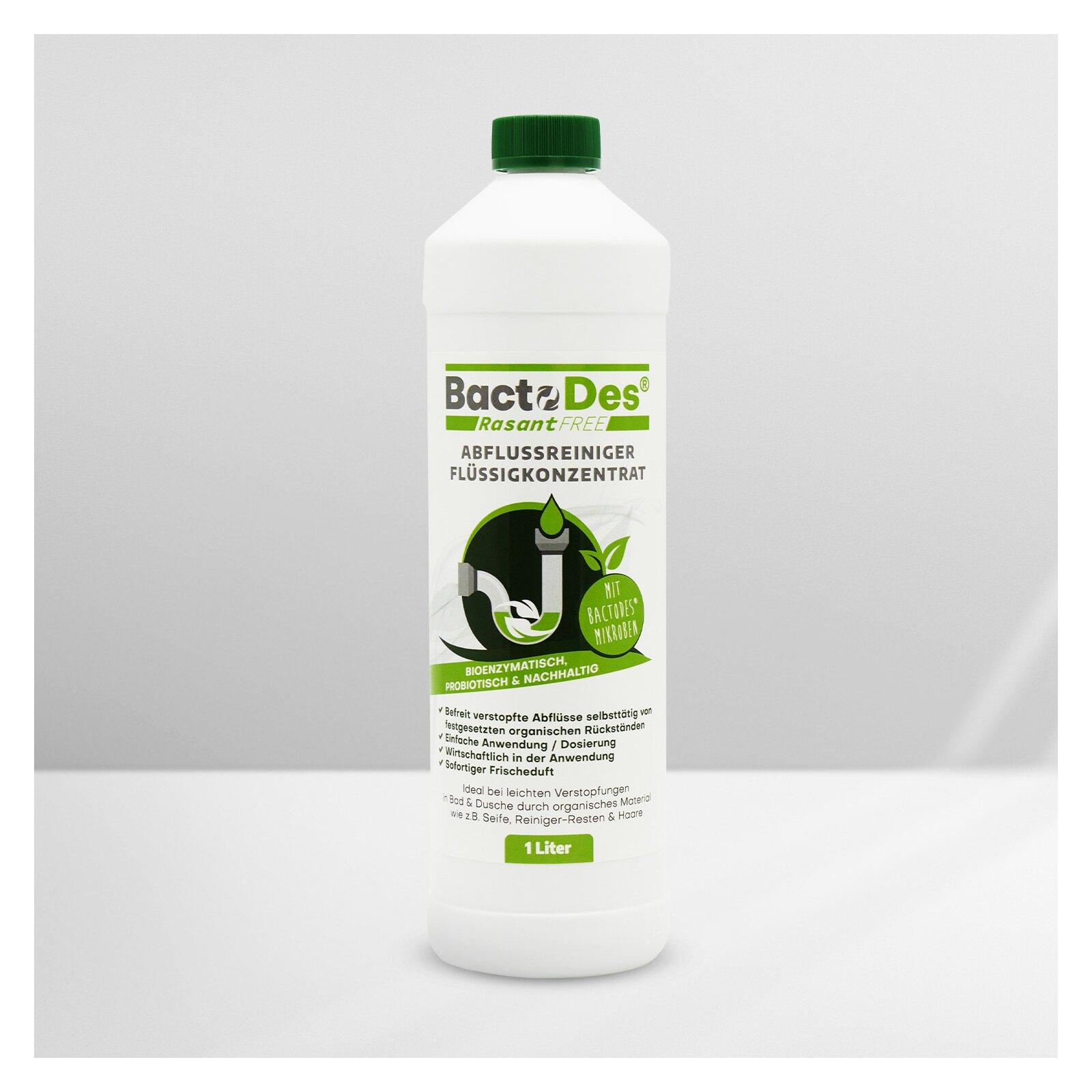 BactoDes RasantFree Abflussreiniger 1 L Flasche