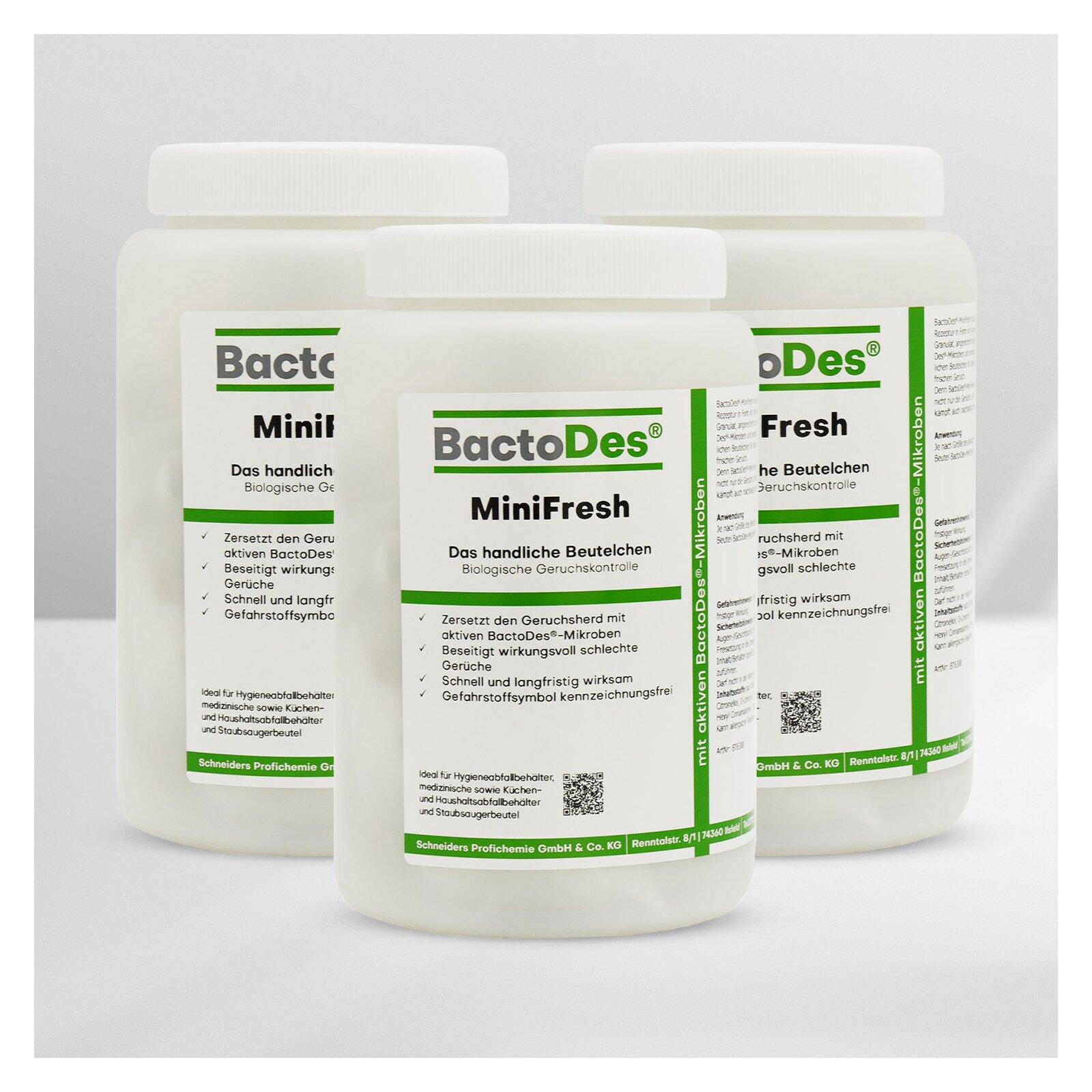 BactoDesMiniFresh GeruchsneutralisiererSäckchen Bundle 3x20 Stück