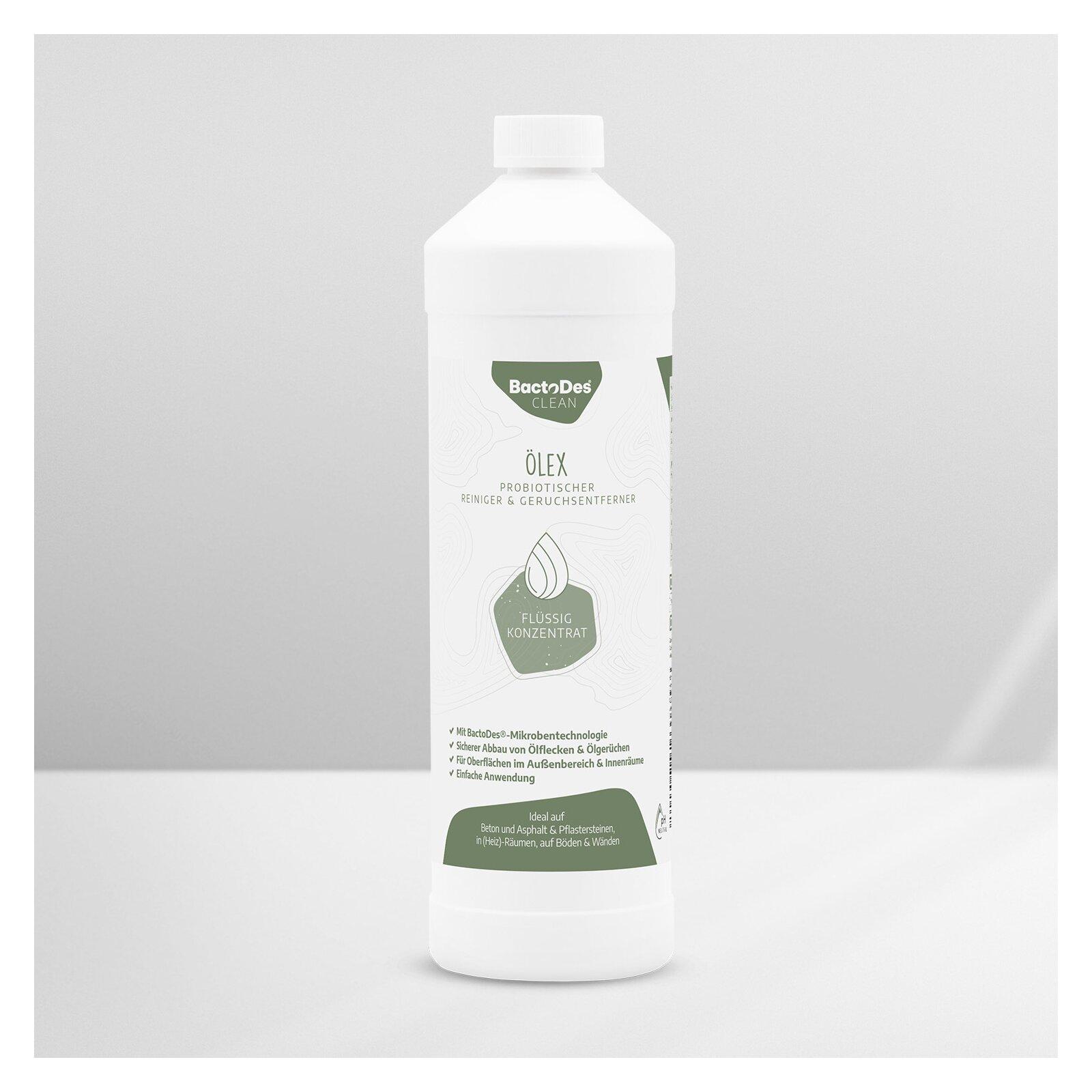 BactoDesÖlex Geruchsentferner von Heizölgeruch und Ölfleckenentferner 1L