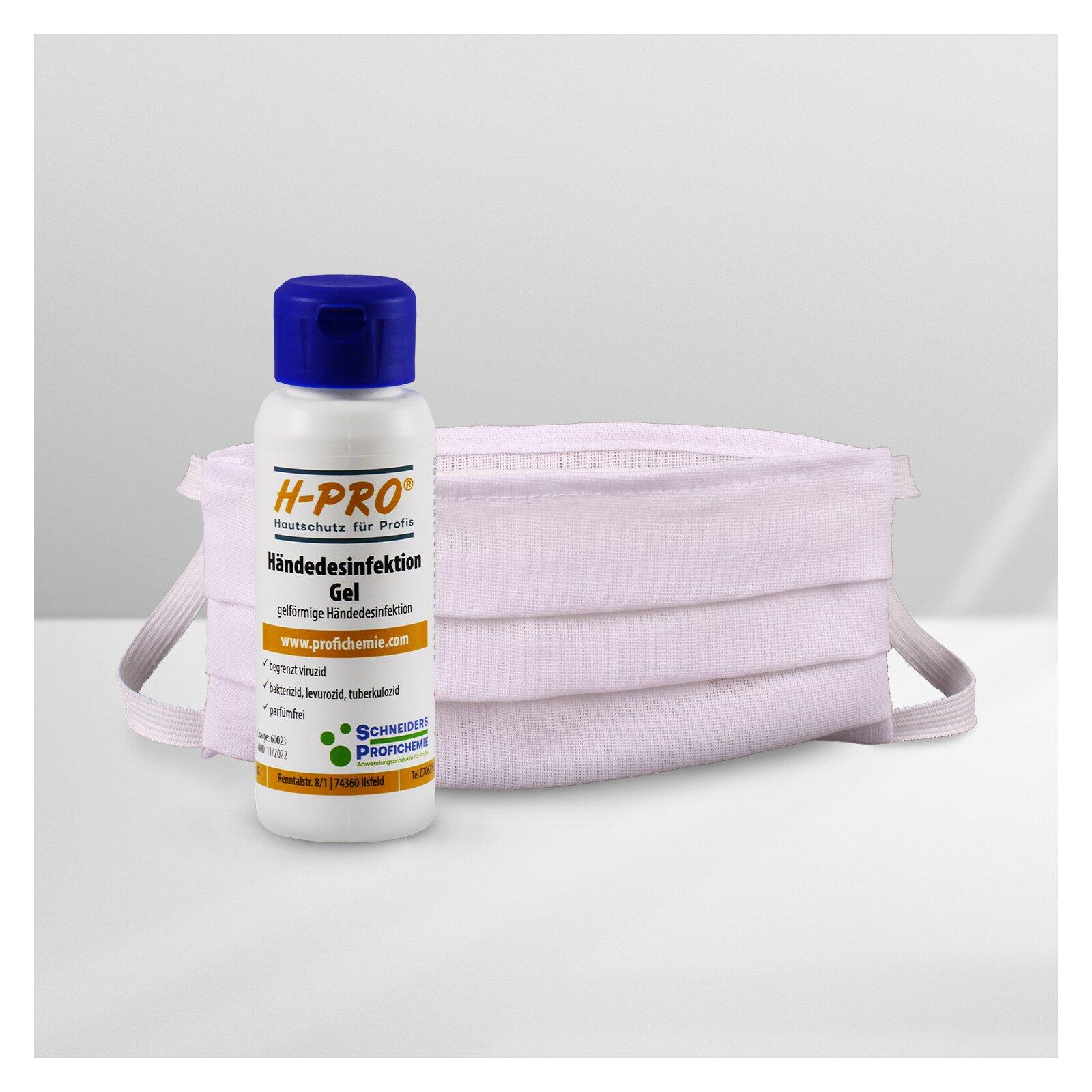 HPro(R) Hygiene Set  HPro(R) Händedesinfektion Gel + Gesichtsmaske