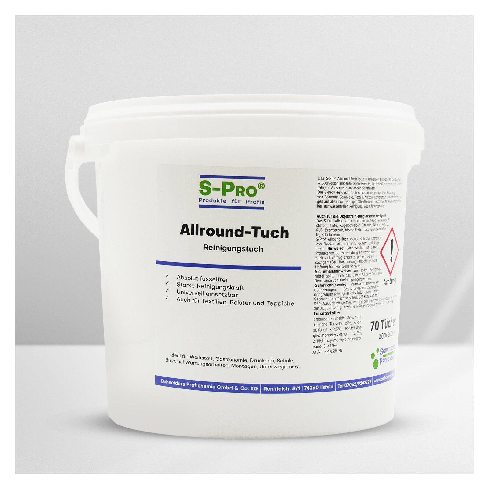SPro(R) AllroundTuch universell einsetzbares Reinigungstuch
