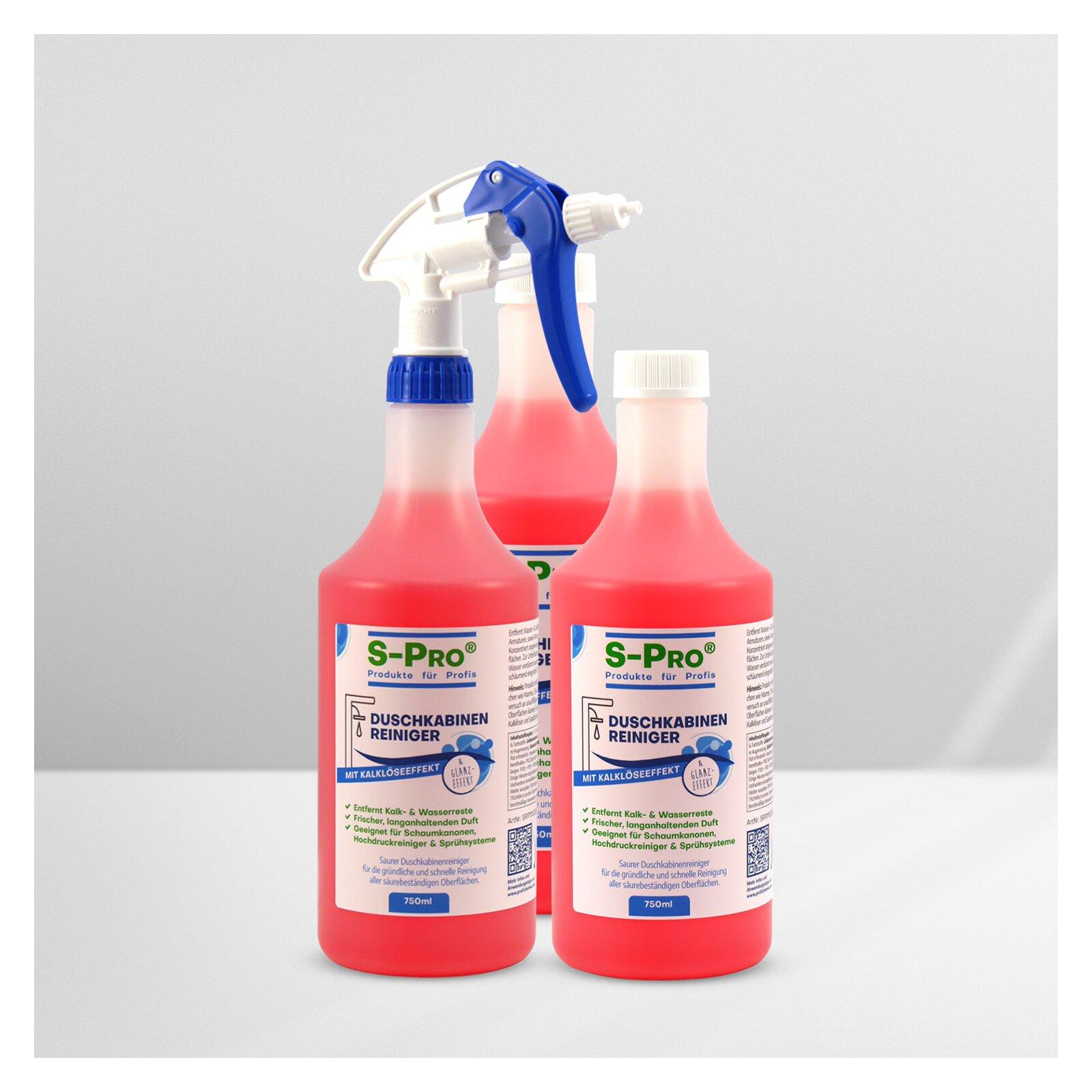 SPro(R) Duschkabinenreiniger 3x 750 ml