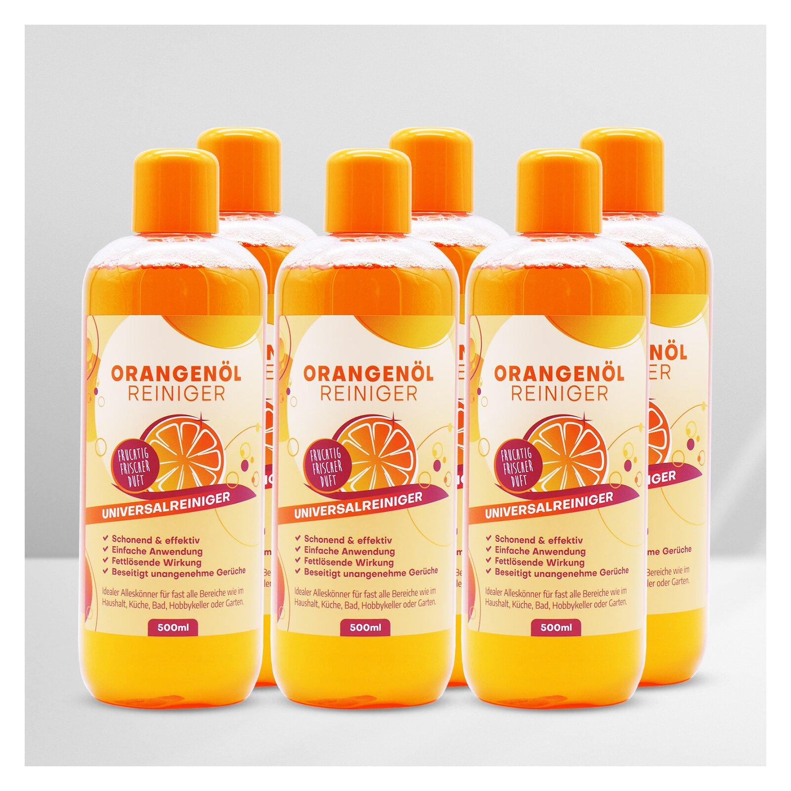SPro(R) Orangenölreiniger Konzentrat 6 x 500ml Flasche