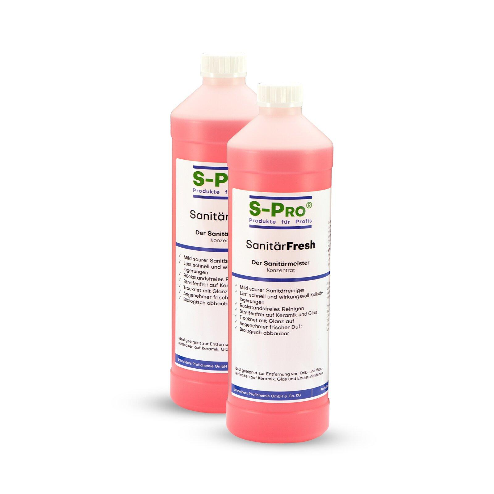 SPro SanitärFresh 2x1Liter Set