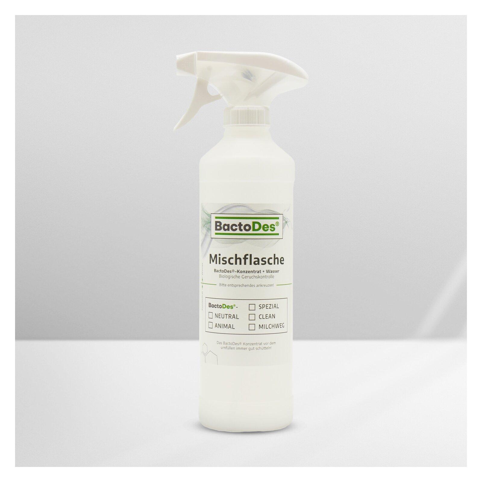 Sprüh und Mischflasche leer BactoDesStandard 250ml